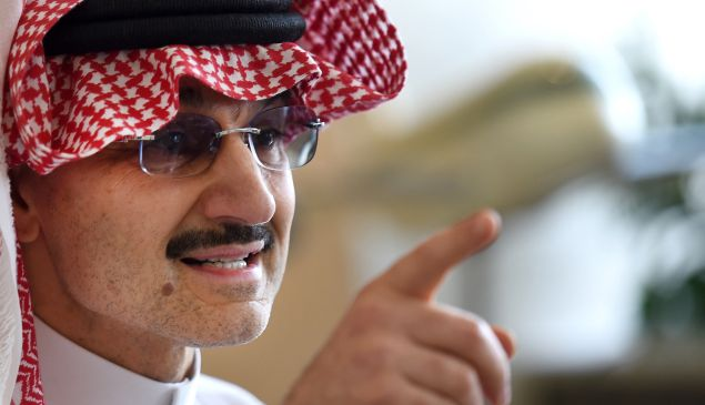Prince Alwaleed is no longer a billionaire.