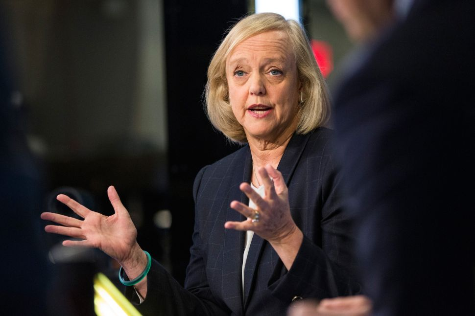Hewlett-Packard CEO Meg Whitman Will Leave Company in February