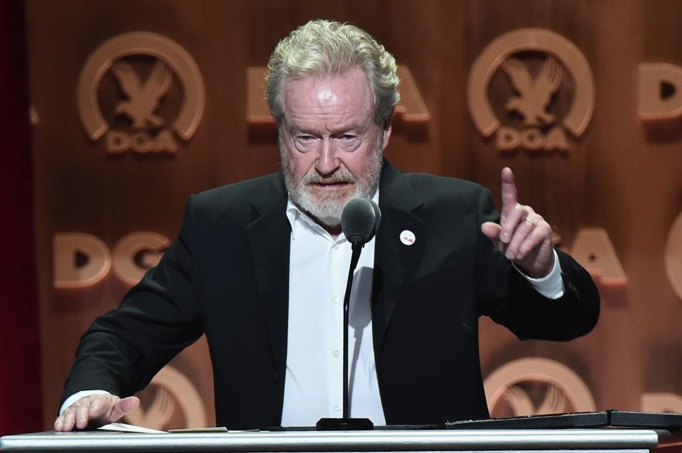 Ridley Scott's 'The Cartel' Could Be This Generation's 'Godfather'