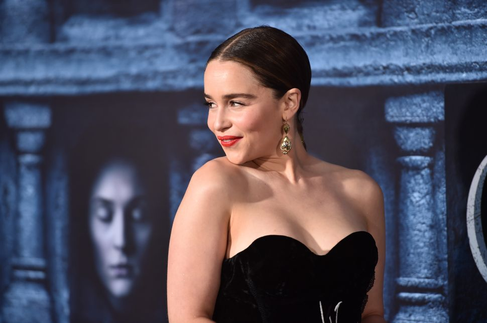 Emilia Clarke Doesn't Care What You Think About All the Nudity on 'Game of Thrones'