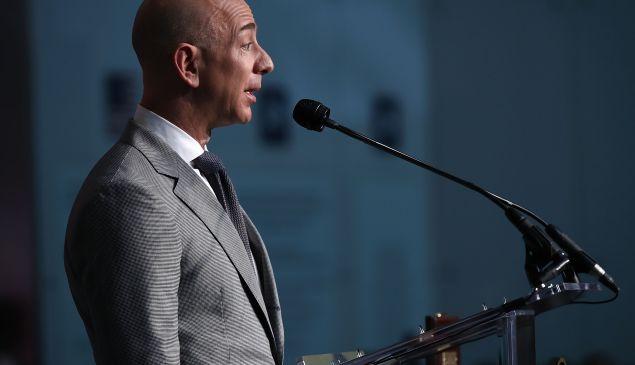 Amazon Founder Jeff Bezos in Washington, DC.