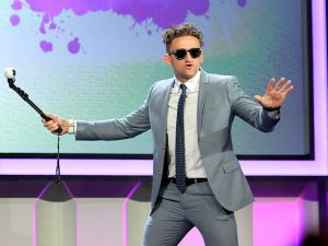 BEVERLY HILLS, CA - OCTOBER 04: Internet personality Casey Neistat accepts the First Person award onstage the 6th annual Streamy Awards hosted by King Bach and live streamed on YouTube at The Beverly Hilton Hotel on October 4, 2016 in Beverly Hills, California. (Photo by Mike Windle/Getty Images for dick clark productions)