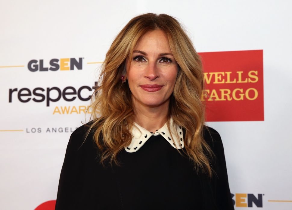 Julia Roberts Said She Has Never Been Sexually Harassed in Hollywood