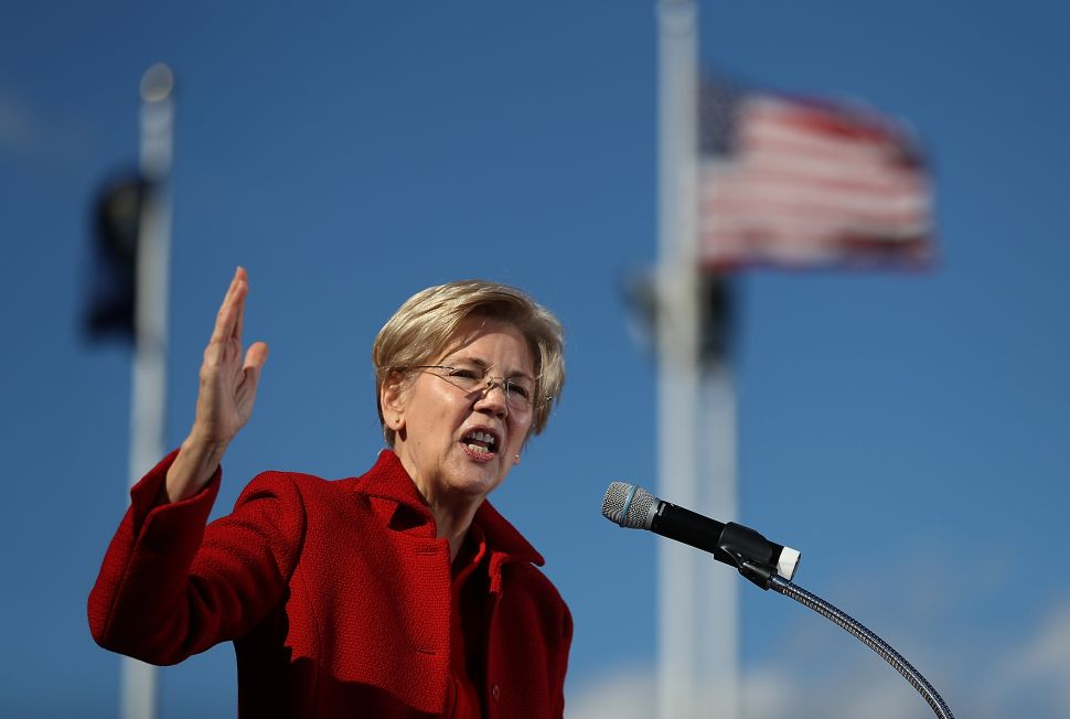Elizabeth Warren Says the Democratic Party Needs to Be Held Accountable