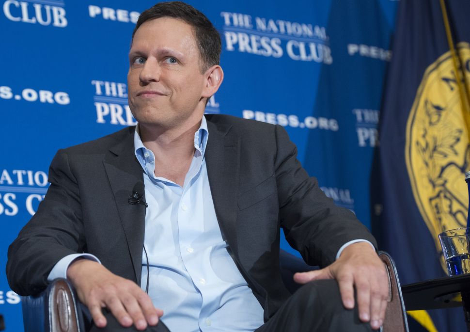 Peter Thiel Parted Ways With Y Combinator—Probably a While Ago