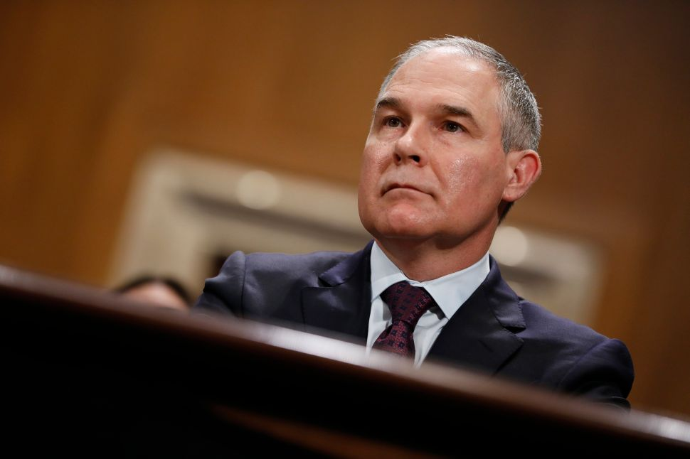 EPA Clashes With Scientists Over Proposed Advisory Board Rule