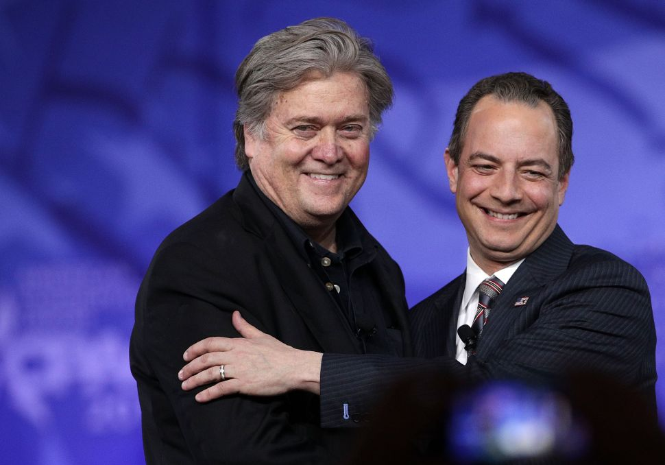 Bannon Makes Nice With RNC Before 2018 Midterm Elections
