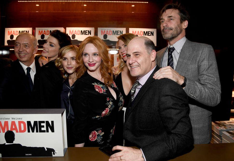 'Mad Men' Creator Accused of Sexual Harassment