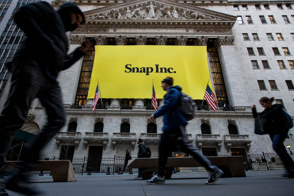 This Chinese Snapchat Competitor Just Bought 145 Million Snap Shares