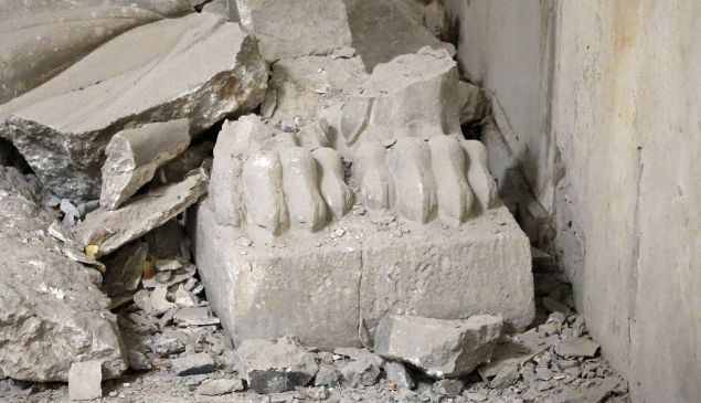 Some of the stolen Middle Eastern antiquities are believed to come from IS.