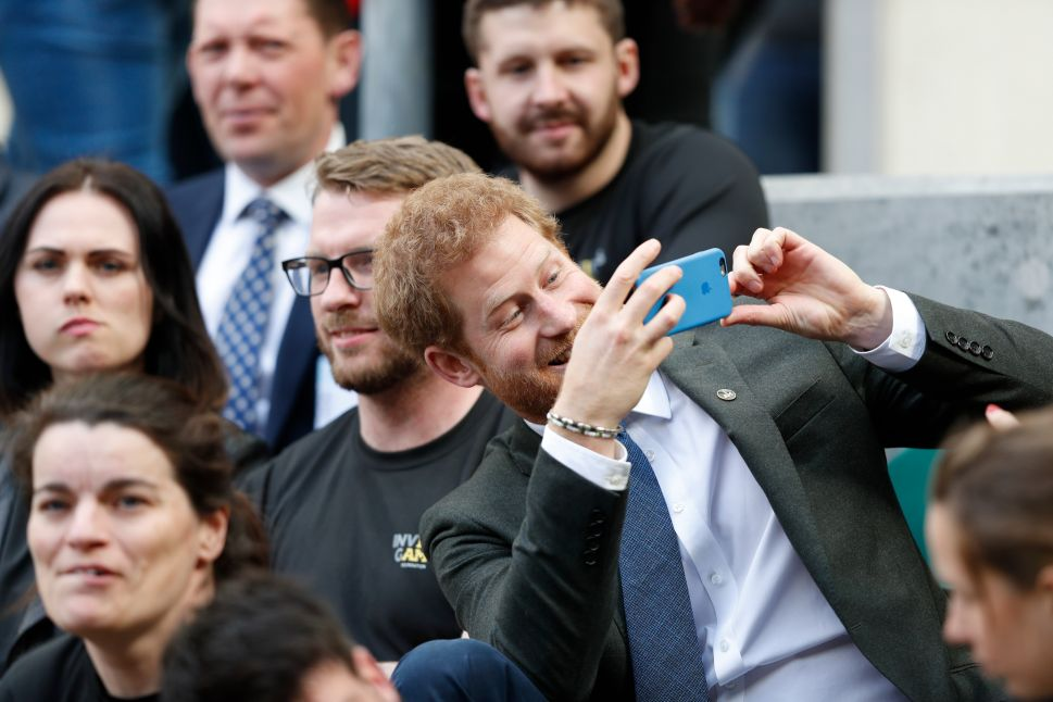 Prince Harry and Prince William Don't Love Social Media
