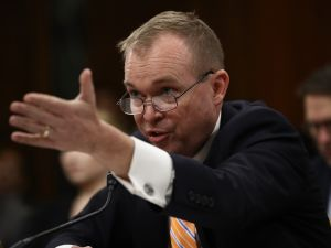 President Donald Trump's pick for CFPB Director, Mick Mulvaney.