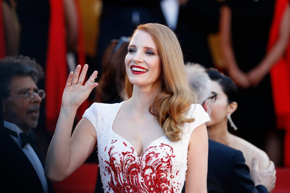 Jessica Chastain Lobbies for Robin Wright to Take Over as Lead in 'House of Cards'