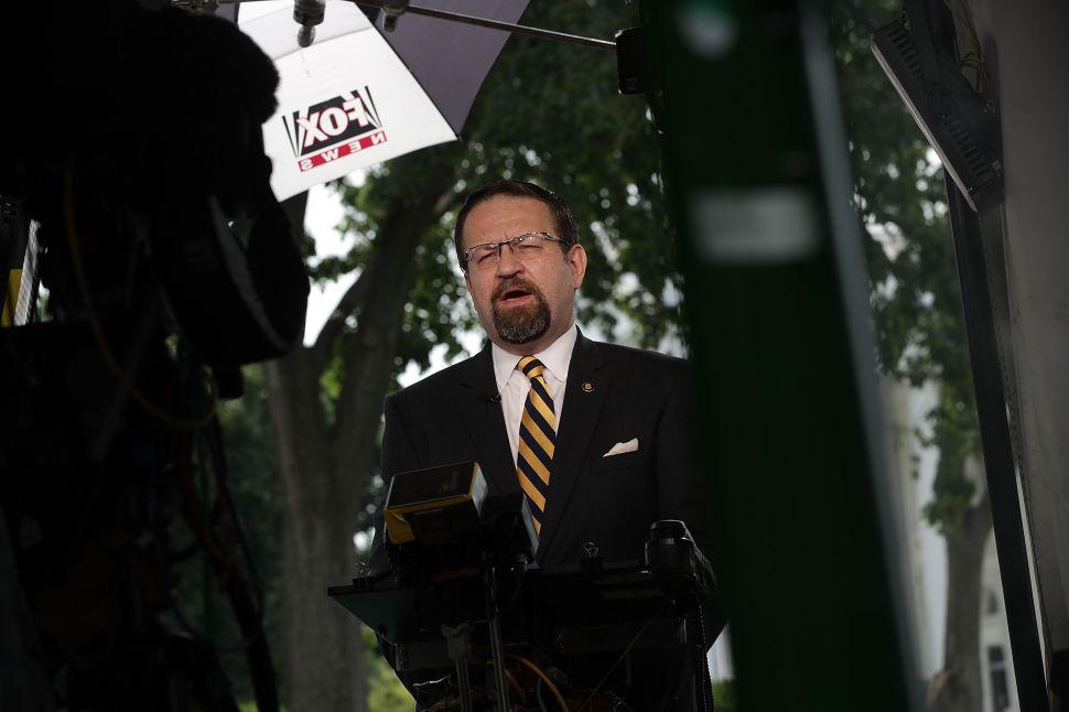 Former Trump Staffer Sebastian Gorka Lands Job at Fox News