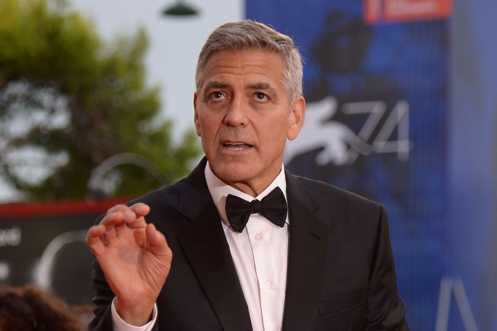 George Clooney Is Returning to Television