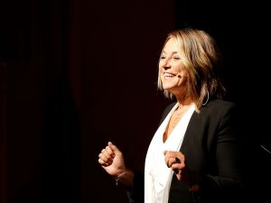 Esther Perel speaks at the Summit of Greatness