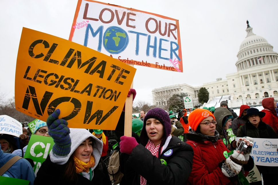 Fight Climate Change, Not Human Nature