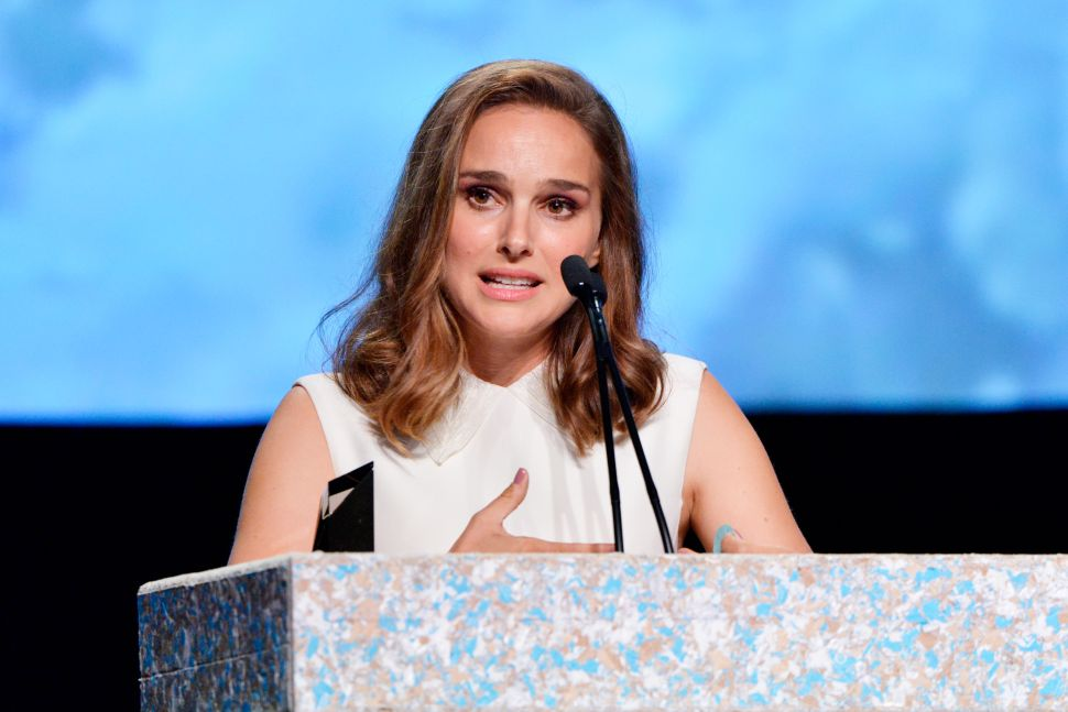 Natalie Portman Speaks Out on Sexual Harassment in Hollywood
