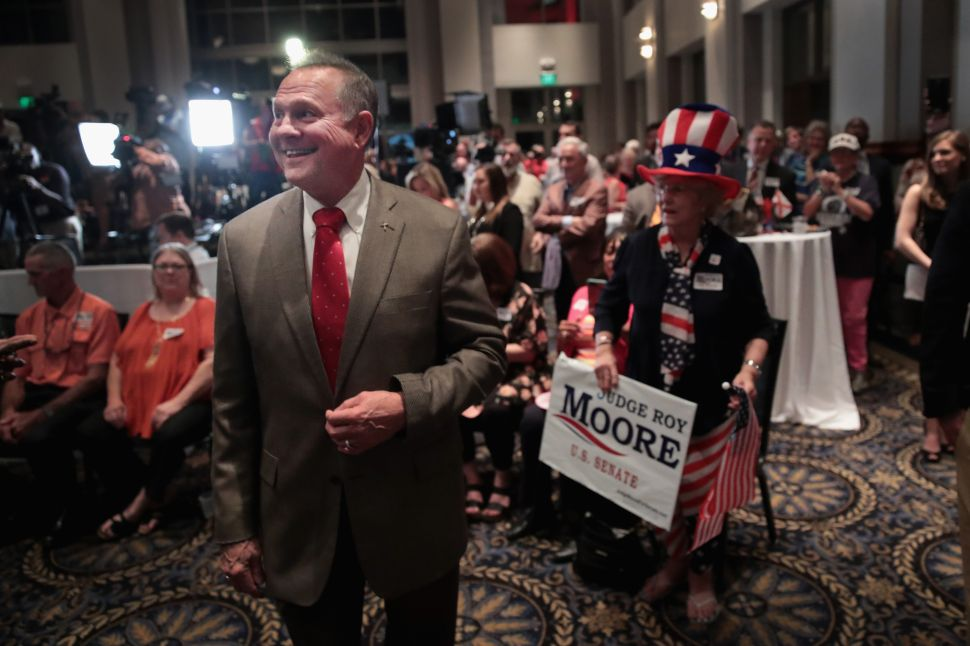 Republican PAC Fundraises Off Trump's Defense of Roy Moore
