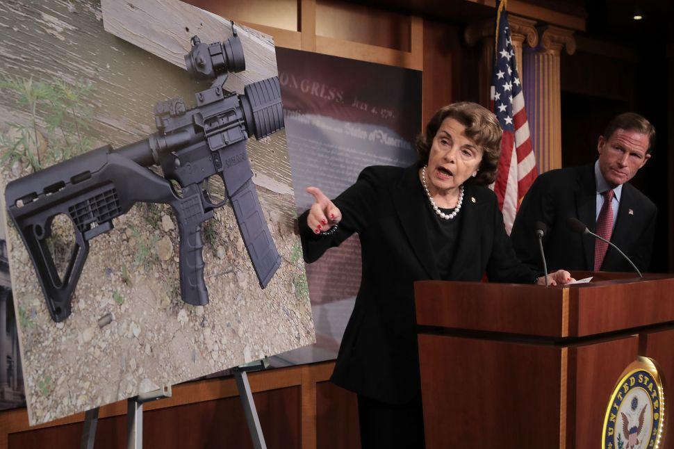 Feinstein and Senate Democrats Introduce Gun Ban Bill Following Texas Shooting