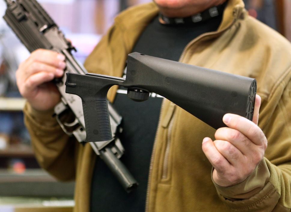 Bump Stock Ban to Get Thursday Committee Hearing