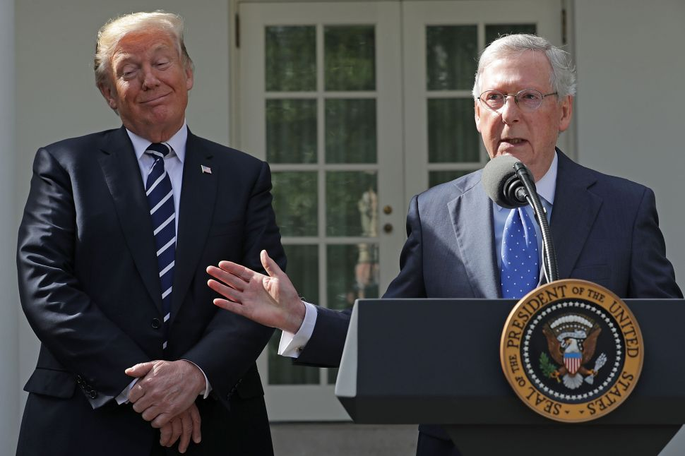 Mitch McConnell Presses Roy Moore to Step Aside, Says 'I Believe the Women'