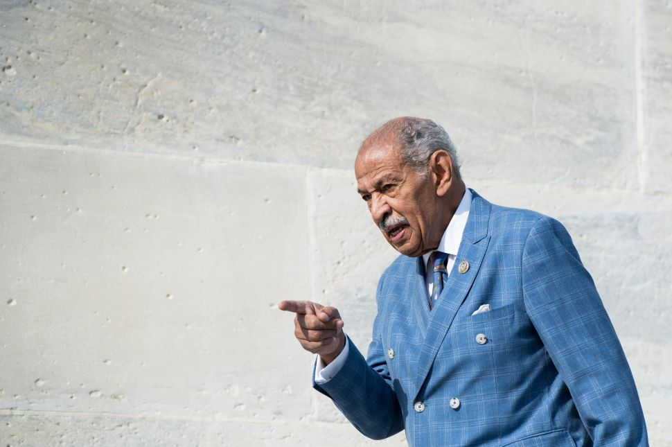 The Real John Conyers Scandal Has Nothing to Do With Sex