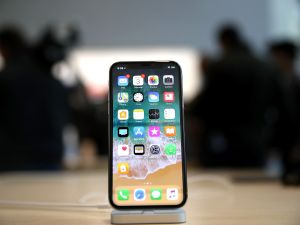 The new iPhone X.
