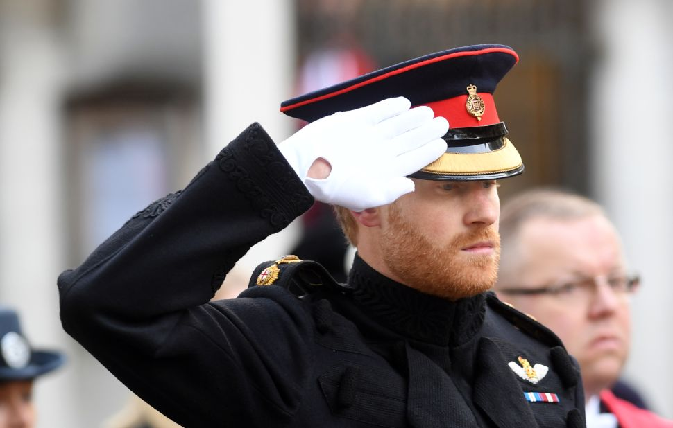Prince Harry Rebelled at a Royal Event This Weekend