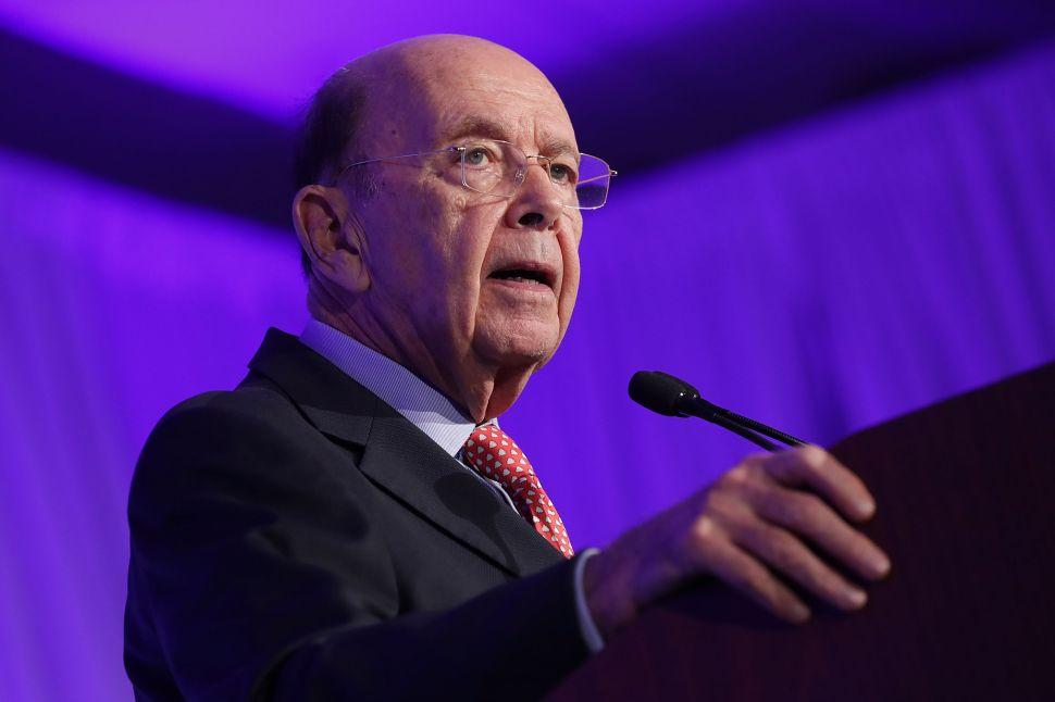 Democratic Senators Demand Investigation Into Commerce Secretary Wilbur Ross