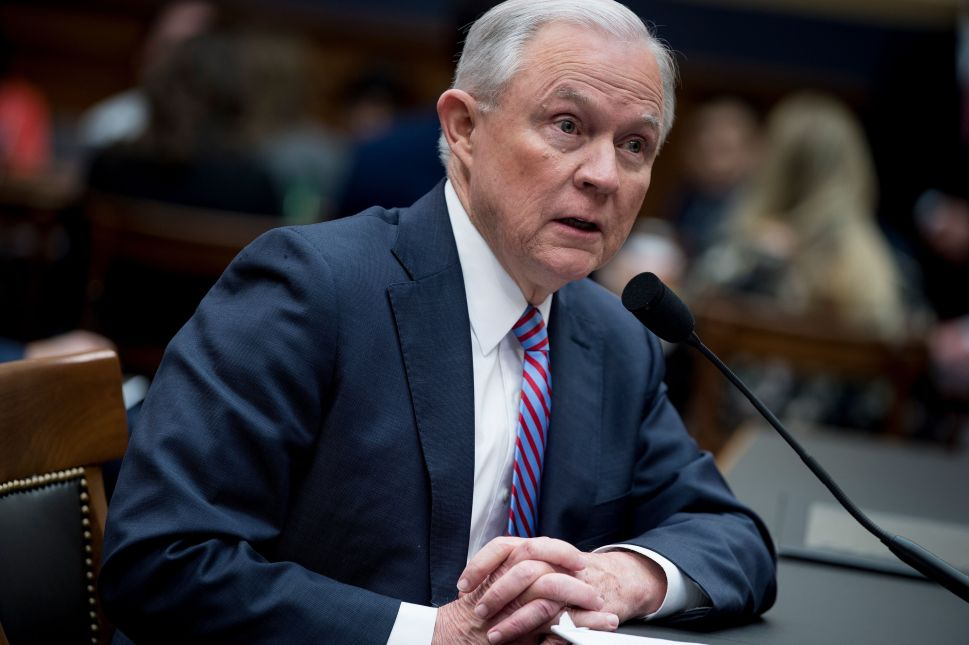 Jeff Sessions' New Catchphrase: 'I Don't Recall'