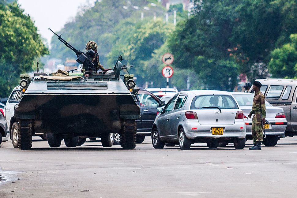 Zimbabwe's Military Seizes Capital and Detains Strongman Leader