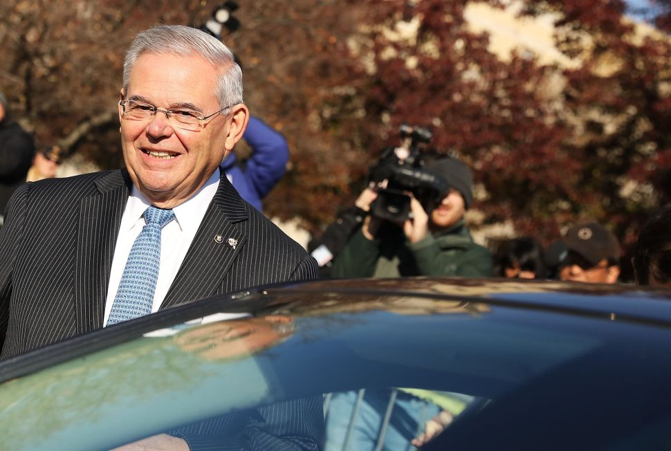 Justice Department Drops Corruption Case Against Sen. Bob Menendez
