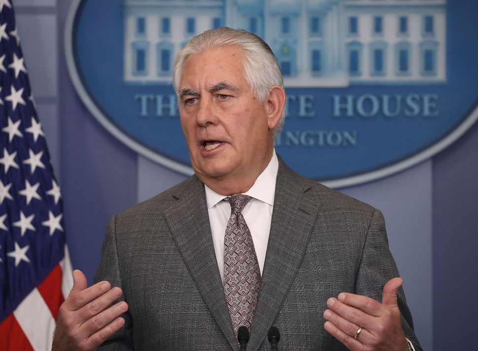State Department Officials Accuse Tillerson of Violating U.S. Law on Child Soldiers