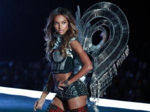 Victoria's Secret Angel Jasmine Tookes in Shanghai.