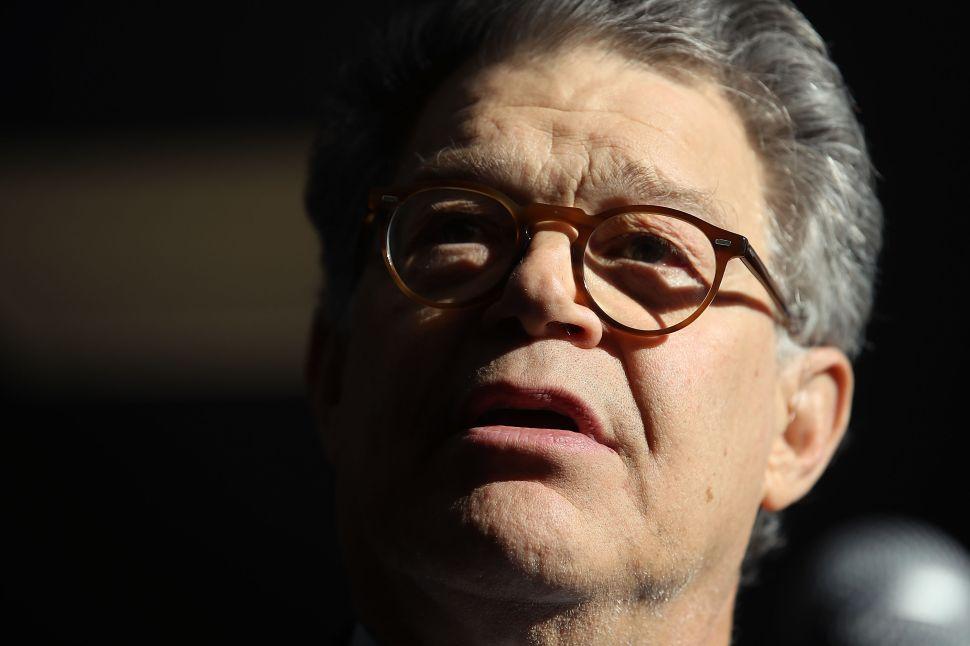 Bill Clinton's Accusers Storm Al Franken's Office Demanding His Resignation
