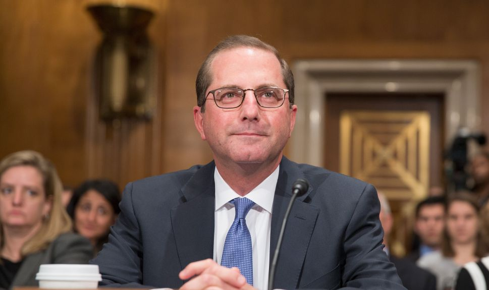Trump's HHS Nominee Harps on Rising Drug Prices in Senate Hearing