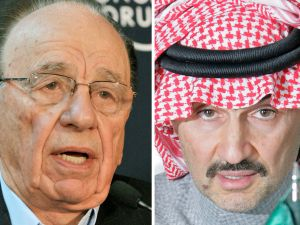 Prince Alwaleed is a close ally to Rupert Murdoch. He invested $400 million in News Corp in 1997.