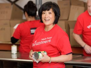 Wells Fargo will turn all its 5,900 banking branches into temporary food banks.