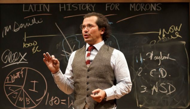 John Leguizamo in 'Latin History for Morons,' one of the plays involved in the Audible program.