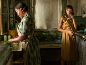 Mary J. Blige and Carey Mulligan in Mudbound.