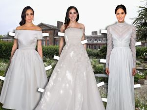 What could Meghan Markle to wear to her royal wedding?
