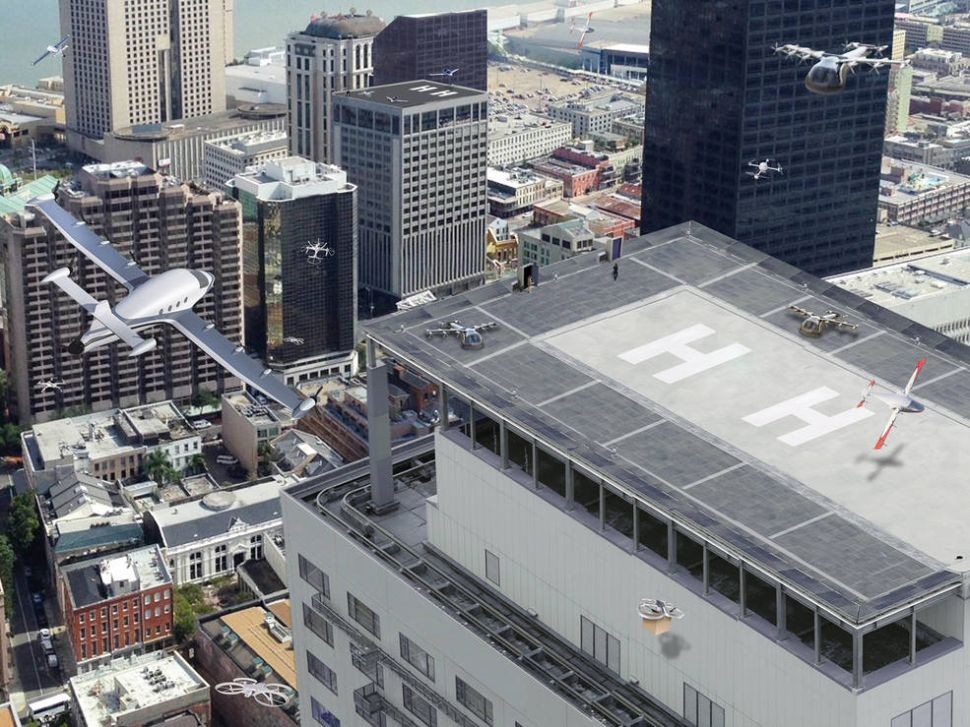 No, NASA Is Not Developing Flying Taxis for Uber