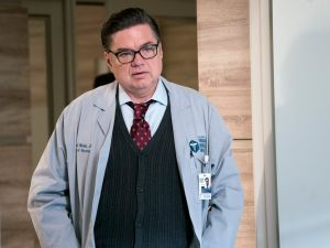 Oliver Platt as Daniel Charles in Chicago Med.