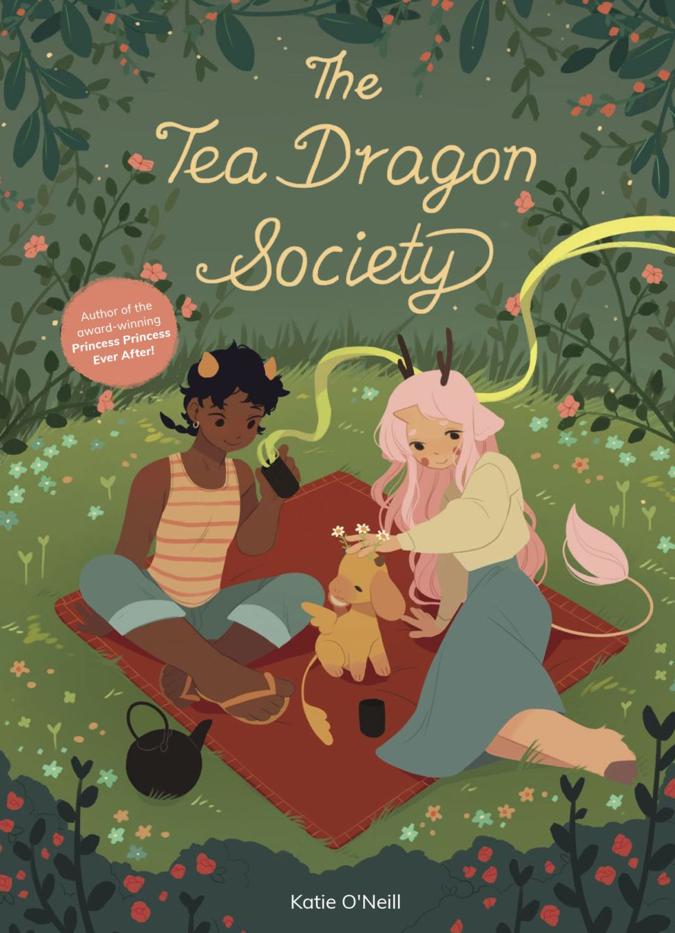 Hybrid Kid's Book and Graphic Novel 'The Tea Dragon Society' Is Designed to Soothe