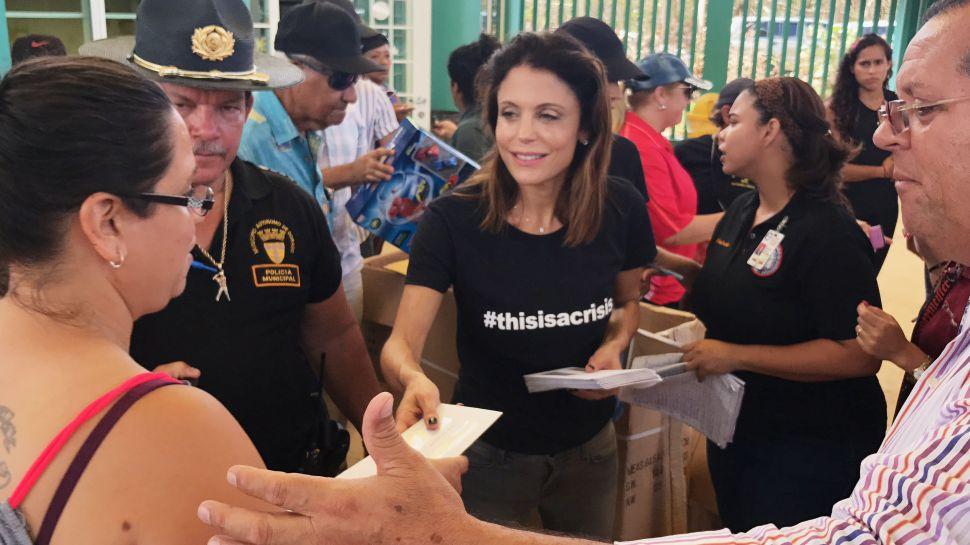Badass Skinnygirl Bethenny Frankel Talks Tackling Crisis in Puerto Rico