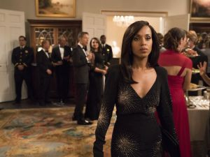 Kerry Washington in Scandal season 7.
