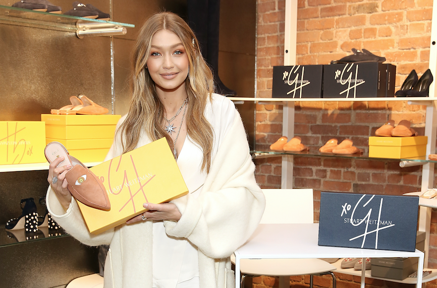 Gigi Hadid Launches a Second Charitable Shoe For Stuart Weitzman