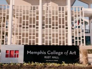 Memphis College of Art Campus.