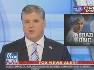 Sean Hannity on 'Hannity' on November 2, 2017.